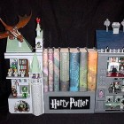 harry potter bookends design 1