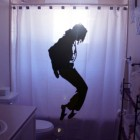 michael jackson shower curtain design for geeks