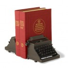typewriters bookends design image
