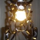 vinyl record lampshade artwork
