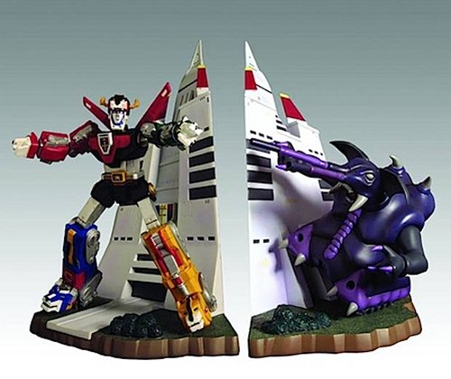 voltron bookend design image