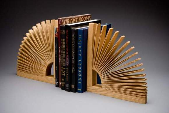 wood bookend design image 1
