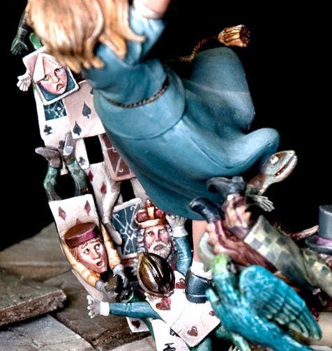 Lovechild Alice Sculpture 2