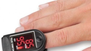finger sized heart rate monitor