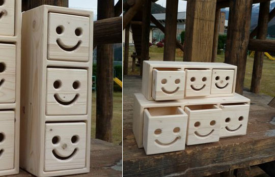 nicot wooden drawers