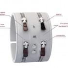 Zipper Bracelet Watch Design1