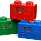 lego brick alarm clock
