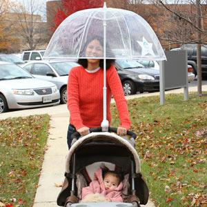 Hands Free Stroller Umbrella A Luxurious Necessity 2
