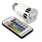 Multi Color LED Lightbulb 1