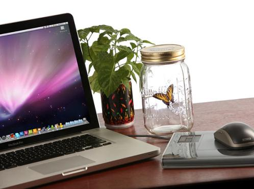 The Electronic Butterfly In A Jar Realistically Magical
