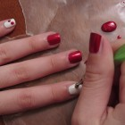 How To Make a Cherries Manicure  3