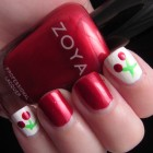 How To Make a Cherries Manicure 6