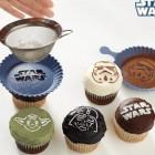 star-wars cupcake Stencils