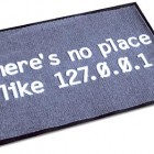geeky entrance mat