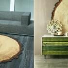wood patterned rug