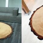 wood patterned rug 2
