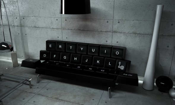 Keyboard Sofa 1