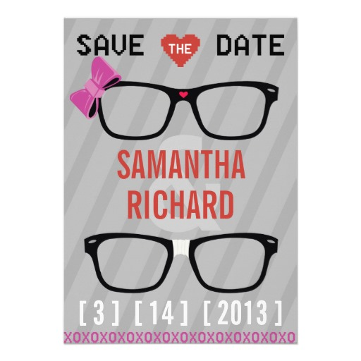 geeky save the date 8