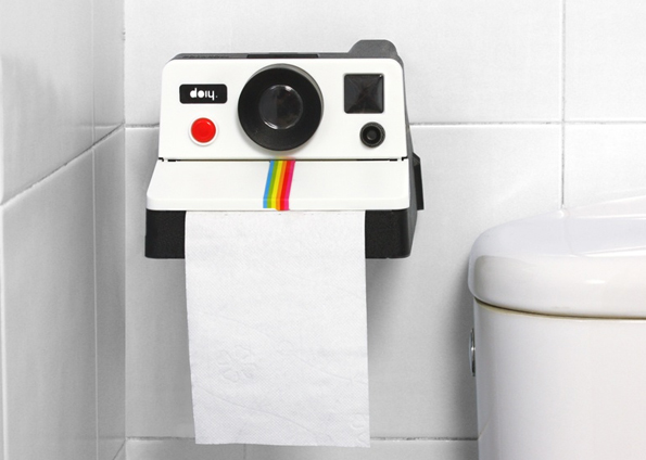 Polaroid camera tp holder creative
