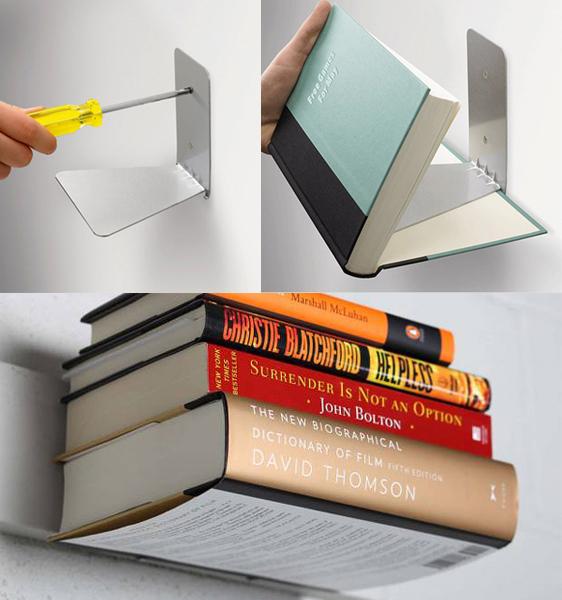 design tredns 2014 Invisible Bookshelf 2