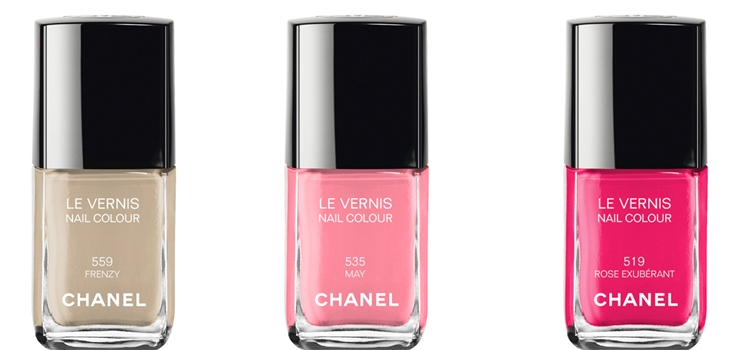 Chanel summer 2014 nail polish