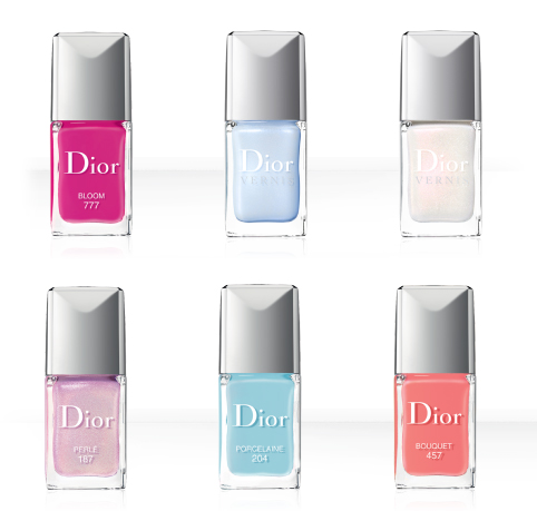 Dior's Vernis - Spring 2014 limited edition collection