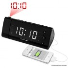 funky gift Electrohome® USB Charging Alarm Clock