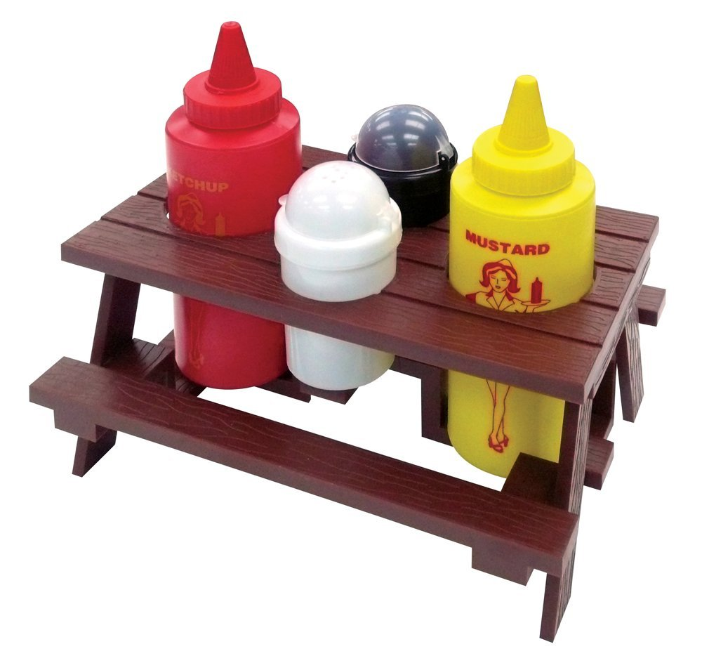 funky gift  Picnic Table Condiment
