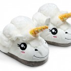 funky gift Plush Unicorn Slippers