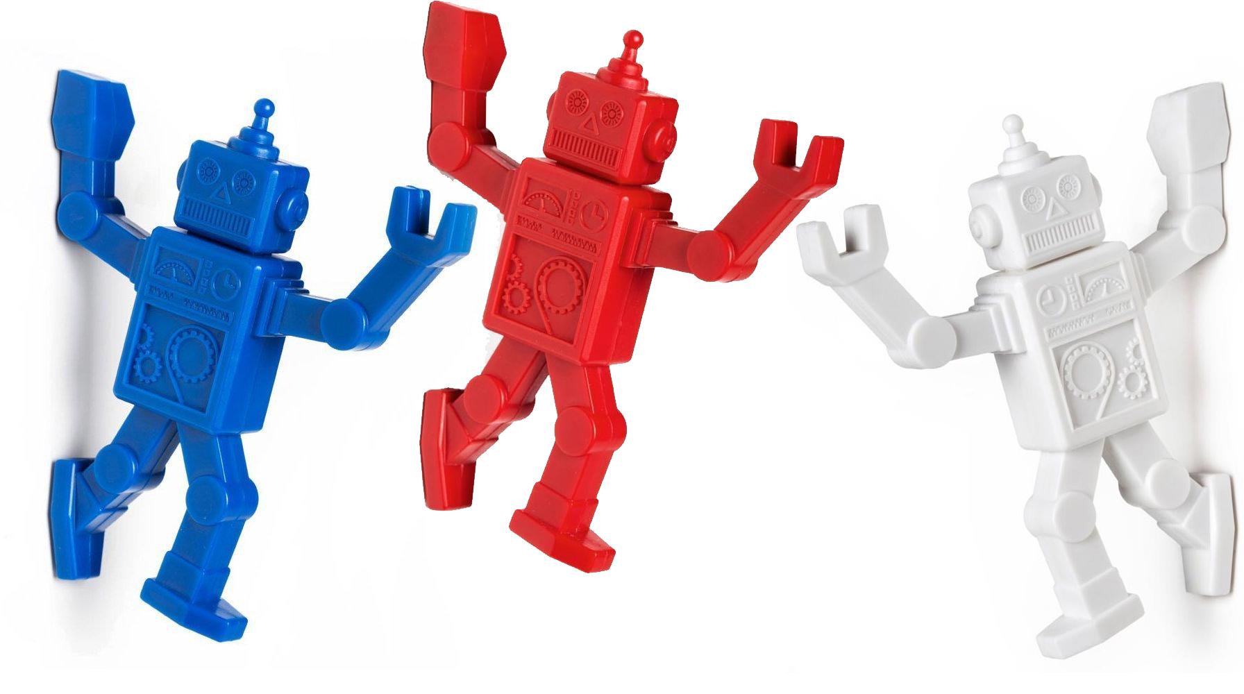 funky gift Robohook White Magnetic Holder
