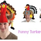 silly Funny turkey hat 7