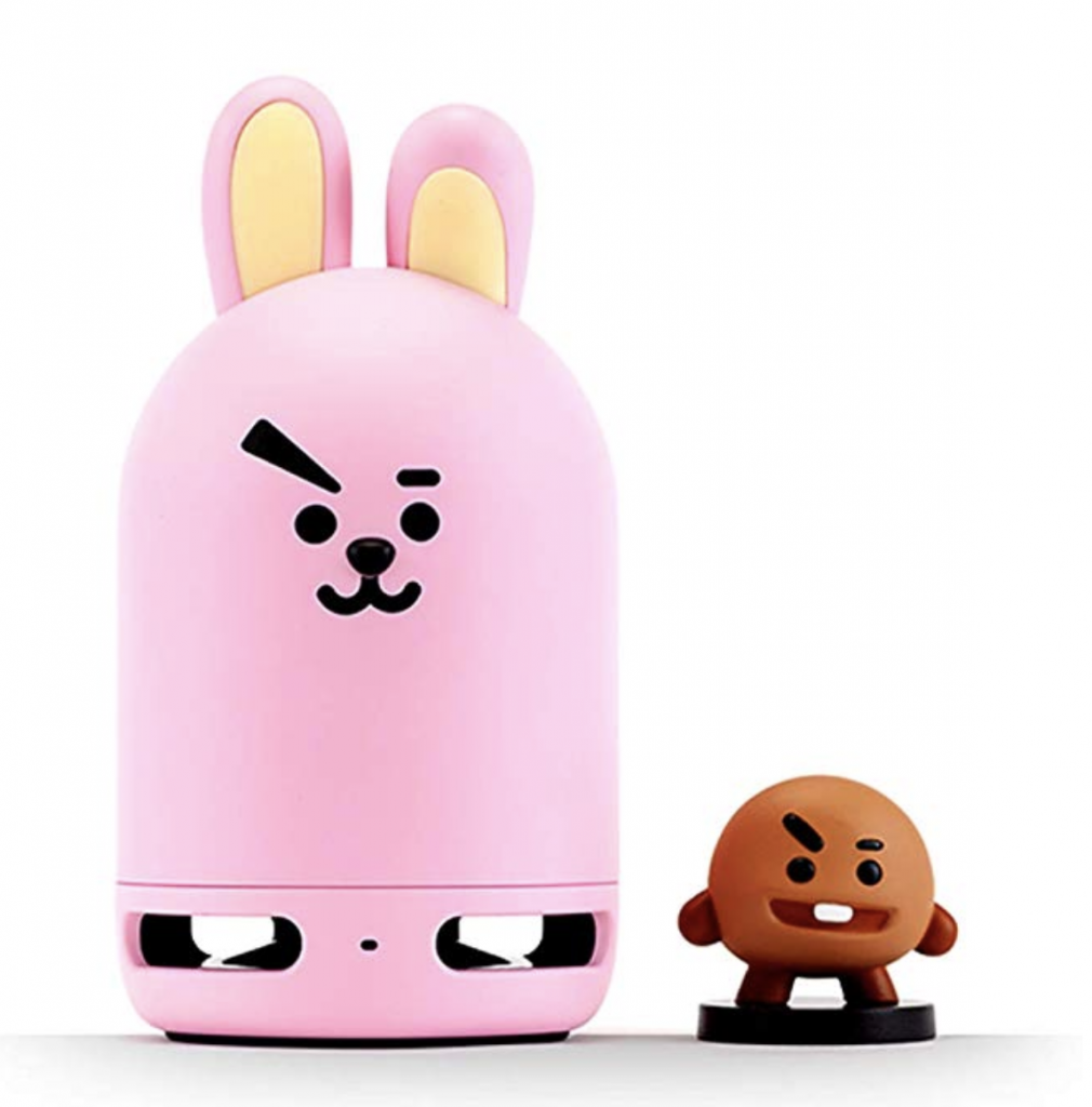 BT21 Official BTS Friends Duo Bluetooth Stereo Portable Speaker