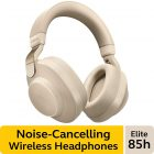 Jabra-Elite-85h-Wireless-Noise-Canceling-Headphones-Gold-Beige-–-Over-Ear-Bluetooth-Headphones-Compatible-with-iPhone-and-Android-Built-in-Microphone-Long-Battery-Life-Rain-and-Water-Resistant
