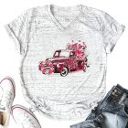 Pink-Leopard-Car-T-Shirt-for-Womens