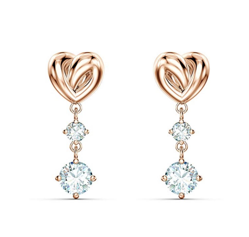 Women's Lifelong Heart Pierced Earrings by SWAROVSKI