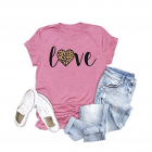 Pink Love t-shirt for valentine's day