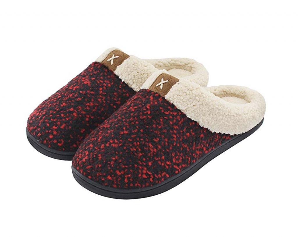 Women's Cozy Memory Foam Slippers by ULTRAIDEAS